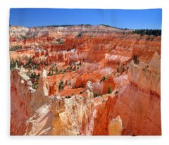 Bryce Canyon Utah Fleece Blanket