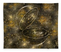 Bubble Sphere IIi Fleece Blanket