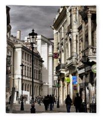 Bucharest The Little Paris Fleece Blanket