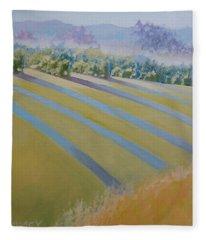 Buck Mountain Vineyards No.2 Fleece Blanket