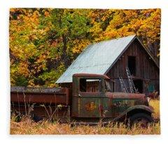 Buckner Orchard Fleece Blanket
