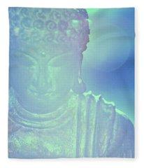 Buddah Bokeh Fleece Blanket