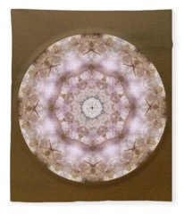Buddha Blessing Fleece Blanket