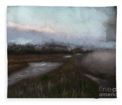 Budleigh Salterton Fleece Blanket