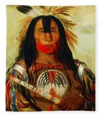 Buffalo Bill's Back Fat Fleece Blanket