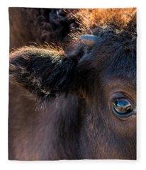Buffalo Eye Fleece Blanket