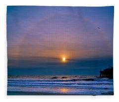 Bullseye Fleece Blanket