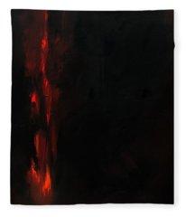 Burn Fleece Blanket
