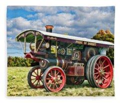 Burrell Showmans Engine Fleece Blanket