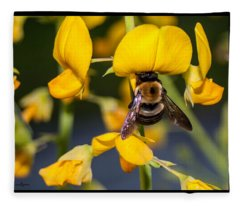 Busy Bee 3 Fleece Blanket
