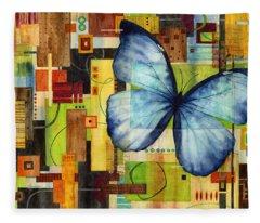 Butterfly Effect Fleece Blanket