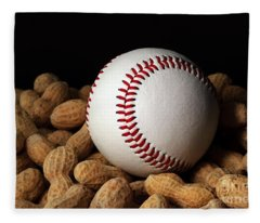Buy Me Some Peanuts - Baseball - Nuts - Snack - Sport Fleece Blanket