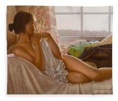 By The Window Fleece Blanket