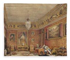 Byrons Room In Palazzo Mocenigo, Venice Fleece Blanket