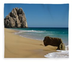 Cabo San Lucas Beach 1 Fleece Blanket