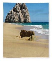 Cabo San Lucas Beach 2 Fleece Blanket