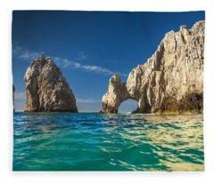 Cabo San Lucas Arch Fleece Blankets