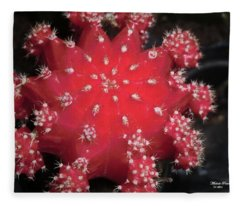 Cactus Beauty  Fleece Blanket