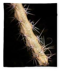Cactus Branch Fleece Blanket