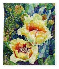 Cactus Splendor I Fleece Blanket