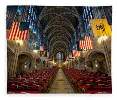 Cadet Chapel Fleece Blanket