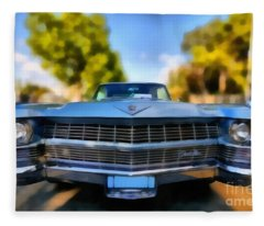 1964 Cadillac Series 62 Deville Fleece Blanket