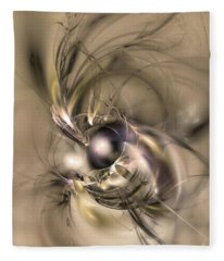 Caelestis - Abstract Art Fleece Blanket
