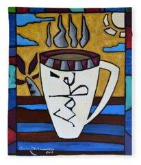 Cafe Resto Fleece Blanket
