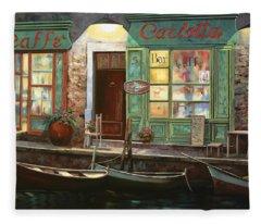 caffe Carlotta Fleece Blanket