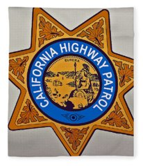 California Highway Patrol Fleece Blanket