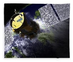 Calipso Environmental Satellite, 2006 Fleece Blanket