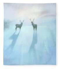Call Of The Arctic Fleece Blanket