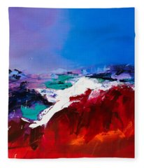 Call Of The Canyon Fleece Blanket