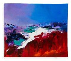 Call Of The Canyon Fleece Blanket