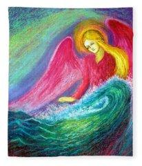 Calming Angel Fleece Blanket