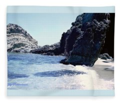 Calming Waves Fleece Blanket