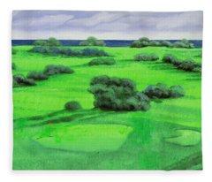 Campo Da Golf Fleece Blanket