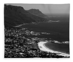 Camps Bay Cape Town Fleece Blanket
