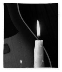 Candle Light Serenade Fleece Blanket