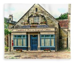 Candleford Post Office Fleece Blanket