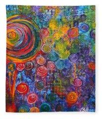 Candyland Fleece Blanket