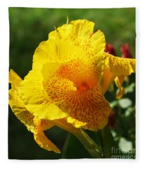 Canna Beauty Fleece Blanket