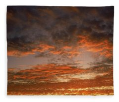 Canvas Sky Fleece Blanket