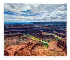 Canyon Country Fleece Blanket