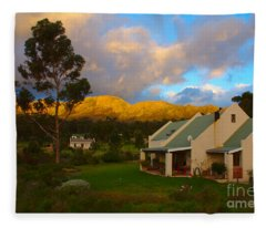 Cape Sunset Fleece Blanket