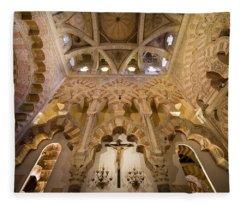 Capilla De Villaviciosa In The Great Mosque Of Cordoba Fleece Blanket