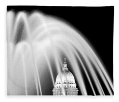 Capitol Fountain Fleece Blanket