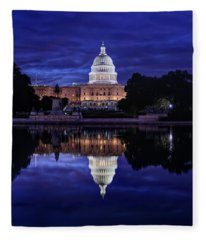 Capitol Morning Fleece Blanket