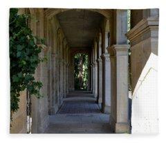 Captain Cook Museum Walkway Fleece Blanket