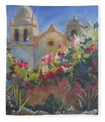 Carmel Mission Fleece Blanket